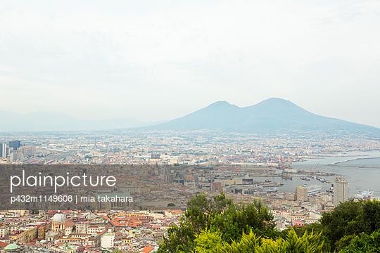 Blick über Neapel  - p432m1149608 von mia takahara