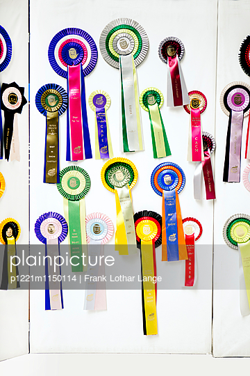 Siegerschleifen - p1221m1150114 von Frank Lothar Lange