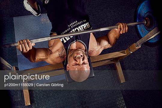 Bodybuilding - p1200m1159329 von Carsten Görling