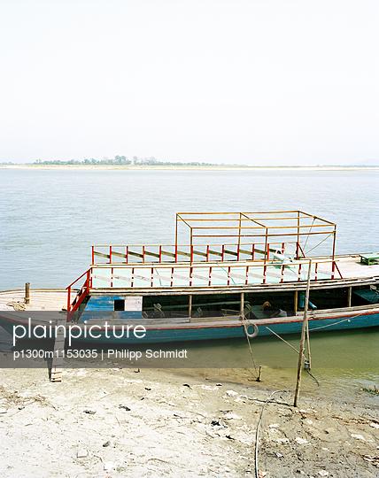 Boot auf dem Irrawaddy - p1300m1153035 von Philipp Schmidt