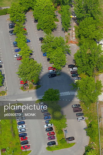 Car Park from above, Berlin Mitte, Germany