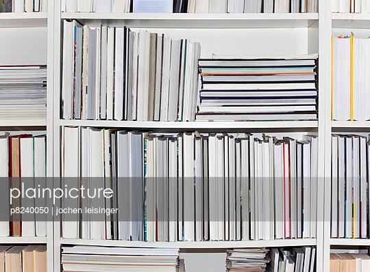 Part of a bookshelf