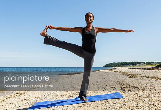 Yoga at the beach II
