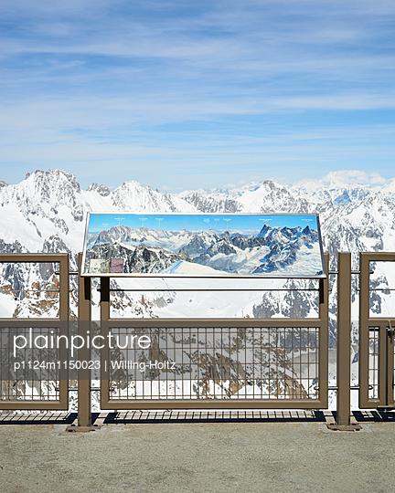 Aussichtsplattform Aiguille du Midi - p1124m1150023 von Willing-Holtz