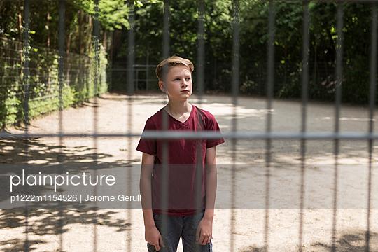 Junger Fußballspieler - p1222m1154526 von Jérome Gerull
