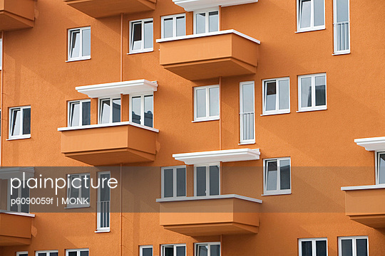 Modern Apartment block in Munich