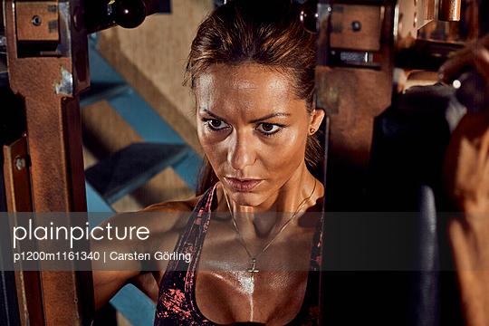 Bodybuilding - p1200m1161340 von Carsten Görling
