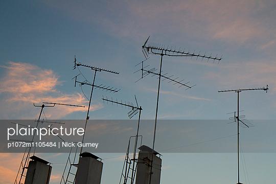Chimneys and TV aerials