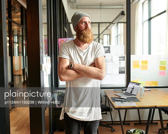 Designer am Arbeitsplatz - p1124m1150238 von Willing-Holtz