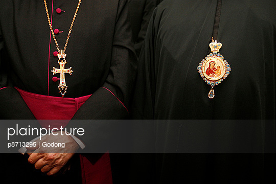 Roman Catholic and Orthodox bishops, Paris, France, Europe