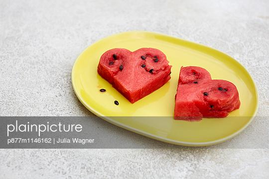 Melonenherz 2 - p877m1146162 von Julia Wagner