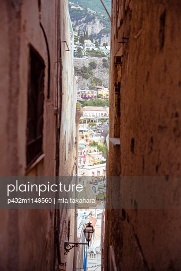 Blick auf Positano - p432m1149560 von mia takahara