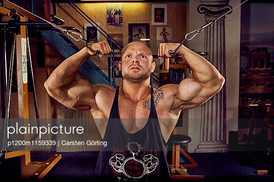 Bodybuilding - p1200m1159339 von Carsten Görling