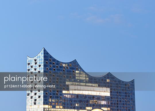 Elbphilharmonie Anschnitt - p1124m1149988 von Willing-Holtz
