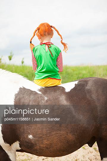 Einsame Pipi Langstrumpf - p045m1158851 von Jasmin Sander