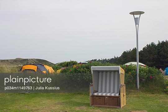 Strandkorb Nordsee - p034m1149763 von Julia Kussius