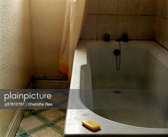 Soap on bath