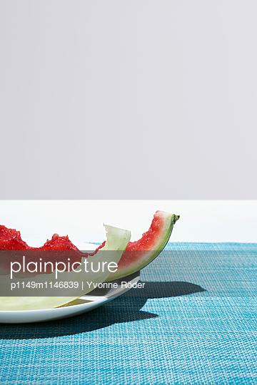 Melonenreste - p1149m1146839 von Yvonne Röder