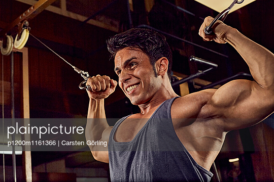 Bodybuilding - p1200m1161366 von Carsten Görling
