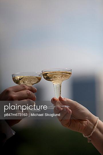 couple bowls of champagne (par skålar i champagne)
