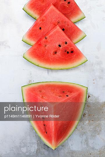 Wassermelone - p1149m1146891 von Yvonne Röder