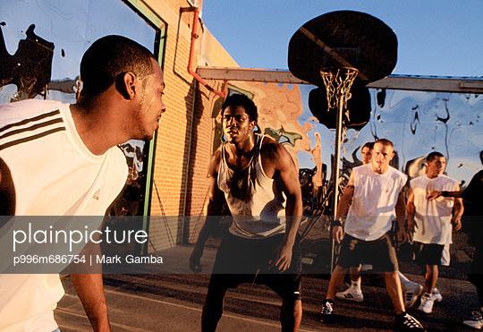 Men\'S Basketball Action