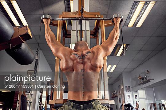Bodybuilding - p1200m1159331 von Carsten Görling