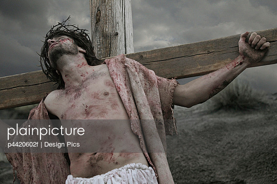 Jesus dying on the cross