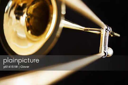 Single trombone (close-up)