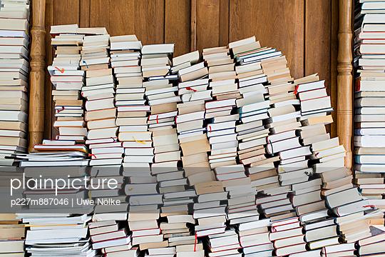 Heap of books IV