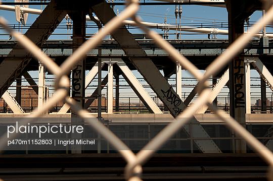 Manhattan Bridge - p470m1152803 von Ingrid Michel