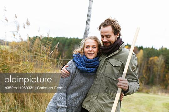 Sweden, Sodermanland, Jarna, Portrait of mid-adult couple