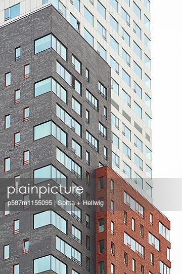 Drei Wohntürme - p587m1155095 von Spitta + Hellwig