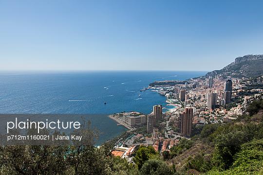Blick auf Monaco - p712m1160021 von Jana Kay