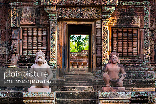 Banteay Srei Temple in Angkor