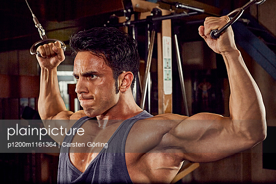 Bodybuilding - p1200m1161364 von Carsten Görling