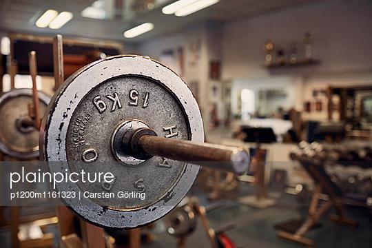 Bodybuiling-Studio - p1200m1161323 von Carsten Görling
