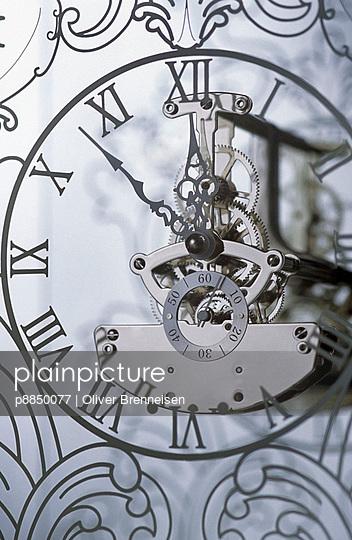 Close-up of a clock