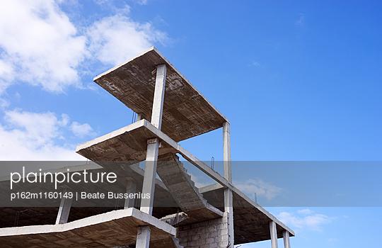 Unfertiger Rohbau Fuerteventura - p162m1160149 von Beate Bussenius