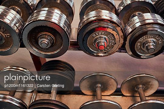 Bodybuiling-Studio - p1200m1161322 von Carsten Görling