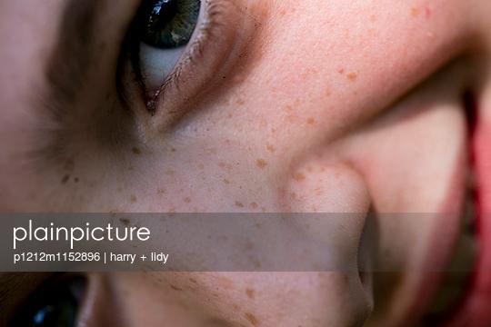 Junge - Close Up - p1212m1152896 von harry + lidy