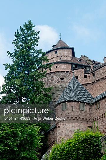 Haut Königsbourg im Elsass - p451m1149689 von Anja Weber-Decker