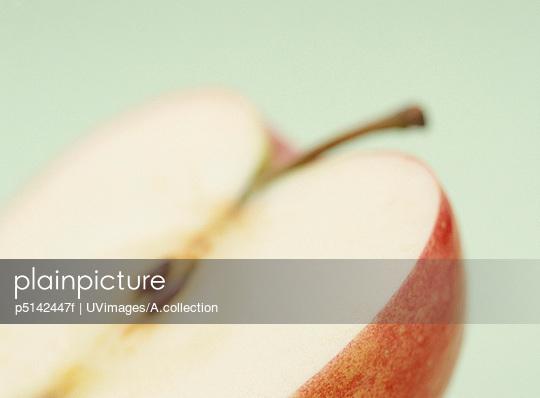 The Cut Of An Apple