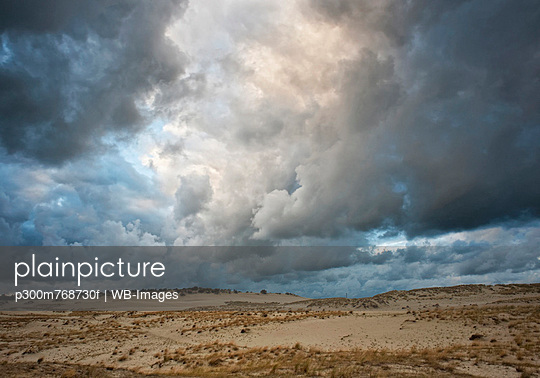 Lithuania, Storm cloud sky