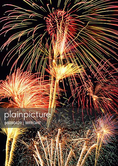 Firework display, Munich, Bavaria, Germany