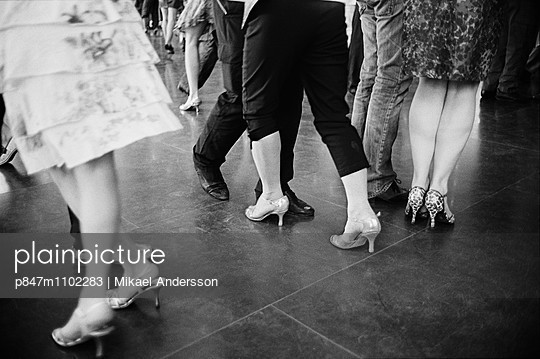 People Dancing At The Amusement Park Grona Lund, Stockholm, Sweden