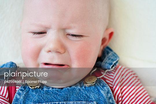 Crying baby-boy