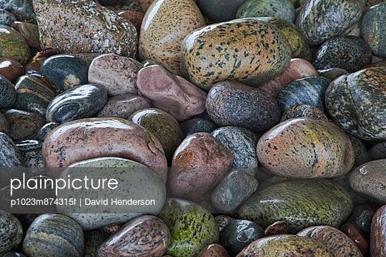 Close up of wet rocks