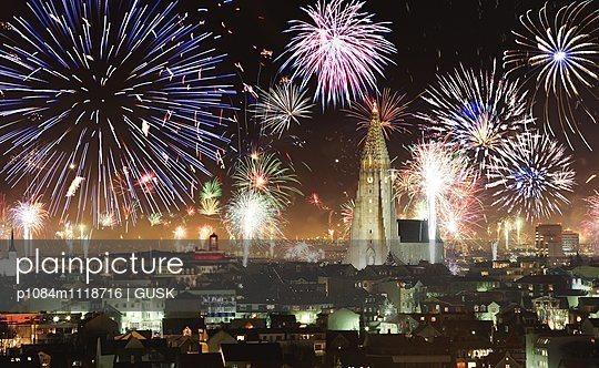 New Years in Reykjavik, Iceland