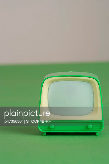 Nostalgic toy television